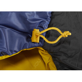 Nordisk Puk +4° Egg Sovepose L, true navy/mustard yellow/black